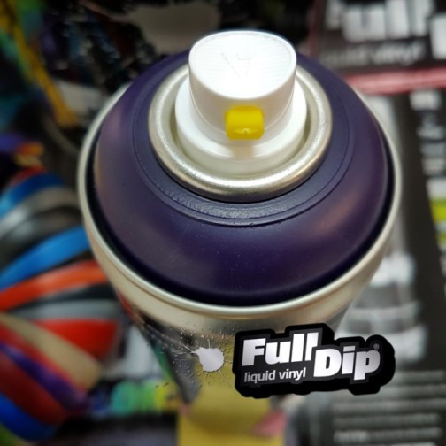 Full Dip Violet Matte Aerosol Spray