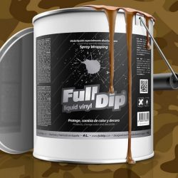 full dip camo brown 4 litre