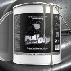 Full Dip Hyper Silver Metalizer 4 litre ready to spray