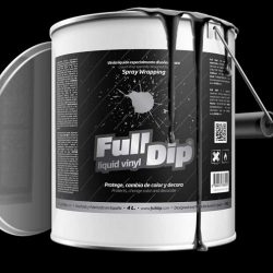 full dip black matte 4 litre