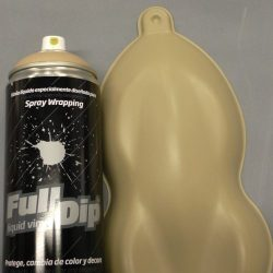 full dip camo tan aerosol spray