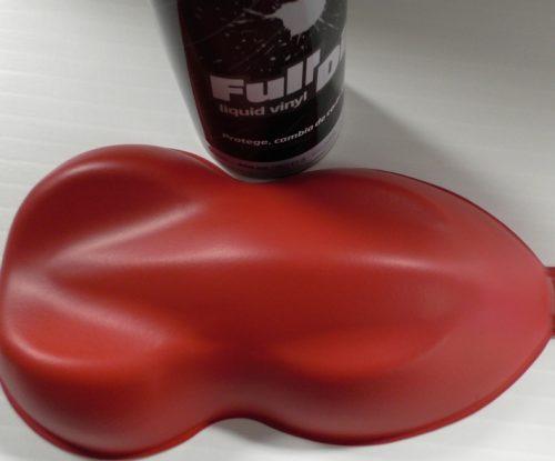 full dip red carmine matte