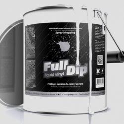 full dip Clear matte 4 litre