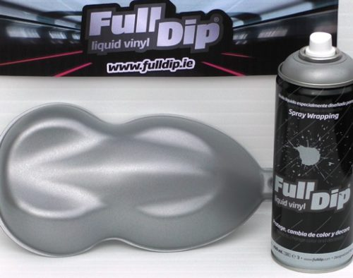 full dip hyper silver metallic