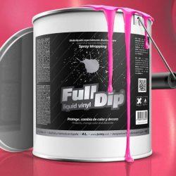 full dip pink matte 4 litre