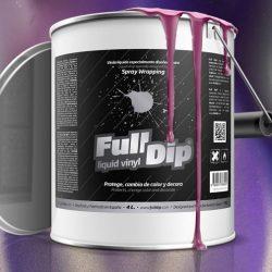 full dip violet matte 4 litre