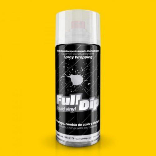 full dip yellow matte