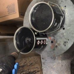 full dip gunmetal grey matte 4 litre
