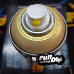 full dip vintage gold metallic pearl