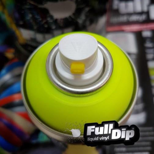 Full Dip Yellow Fluorescent Aerosol Spray Fulldip Ie