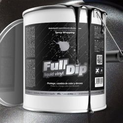 full dip black metalizer 4 litre sprayable