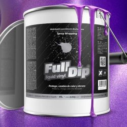 full dip violet metalizer 4 litre ready to spray