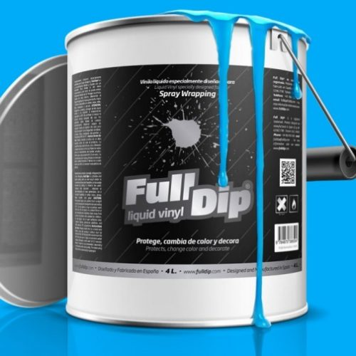 full dip blue fluorescent 4 litre