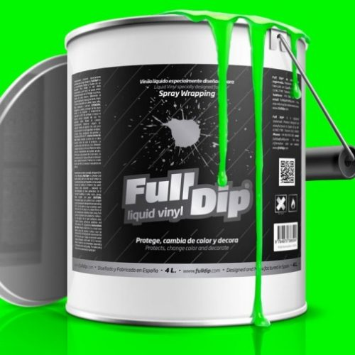 full dip monster green fluorescent 4 litre