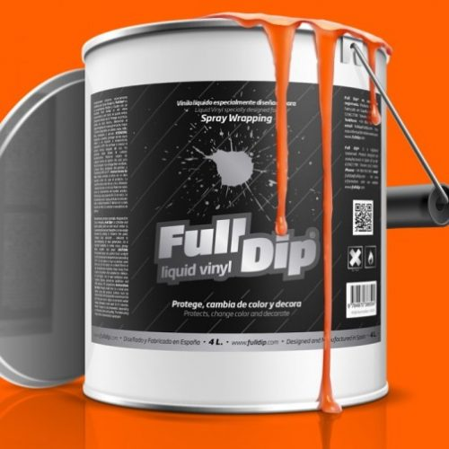 full dip orange fluorescent 4 litre