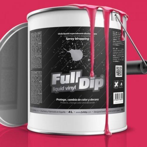 full dip pink fluorescent 4 litre
