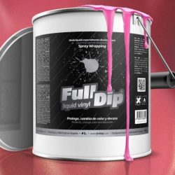 full dip pink metalizer 4 litre ready 2 spray