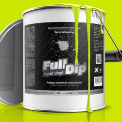 full dip yellow fluorescent 4 litre