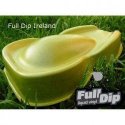 full dip yellow metalizer 4 litre sprayable