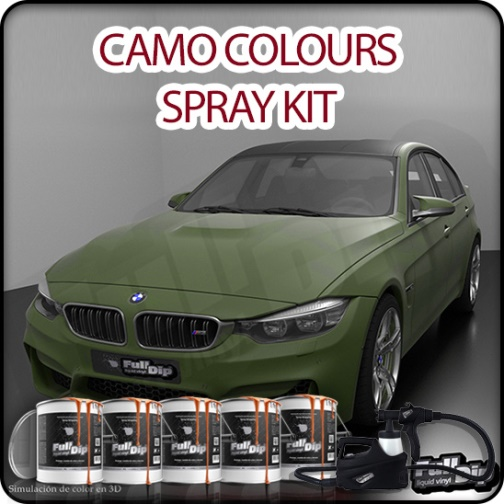 Car Spray Kit Camo