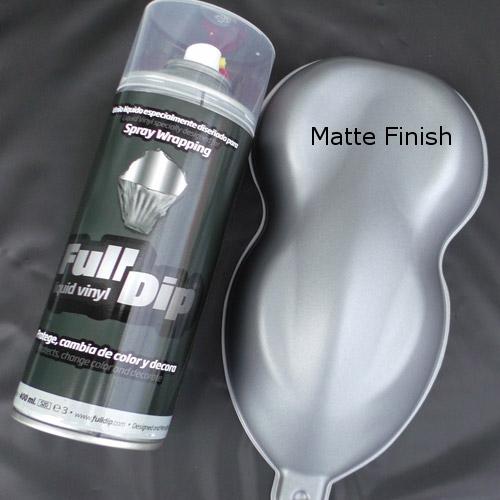 full dip chrome silver