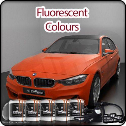 car spray kit fluorescents