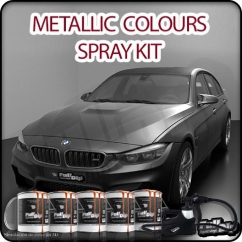 Car Spray Kit Metallic colours