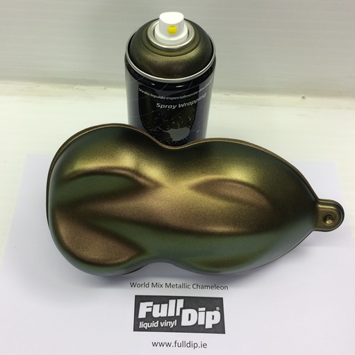 full dip world mix chameleon aerosol spray