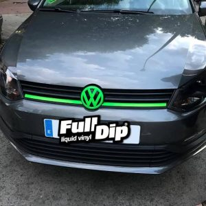vw grill full dip green